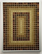 Sepia Perspectives - Framed Mosaic Accent