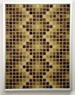 Sepia DNA - Framed Mosaic Accent