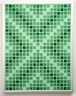 Jaded Arrows - Framed Mosaic Accent