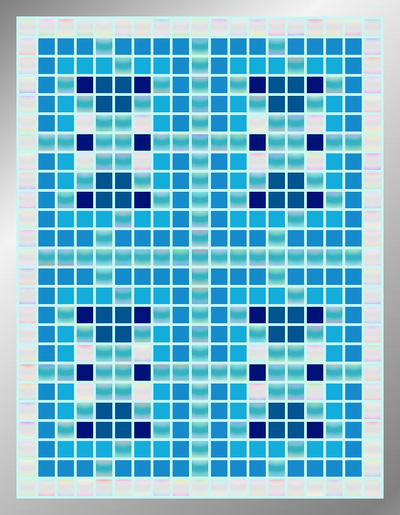 Turquoise Pearl Archipelago - Mosaic Tiled Accent