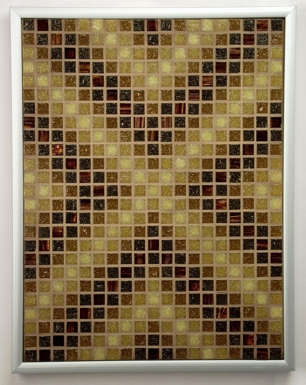 Sepia Arrows Mosaic Accent