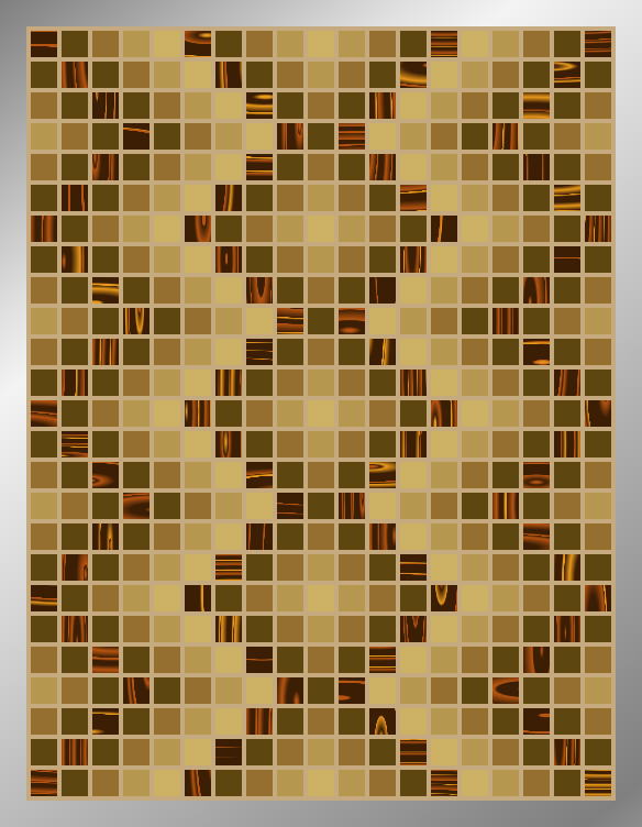 Sepia DNA - Mosaic Tiled Accent