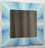 Seaside Unity 38cm - Mosaic Tiled Mirror