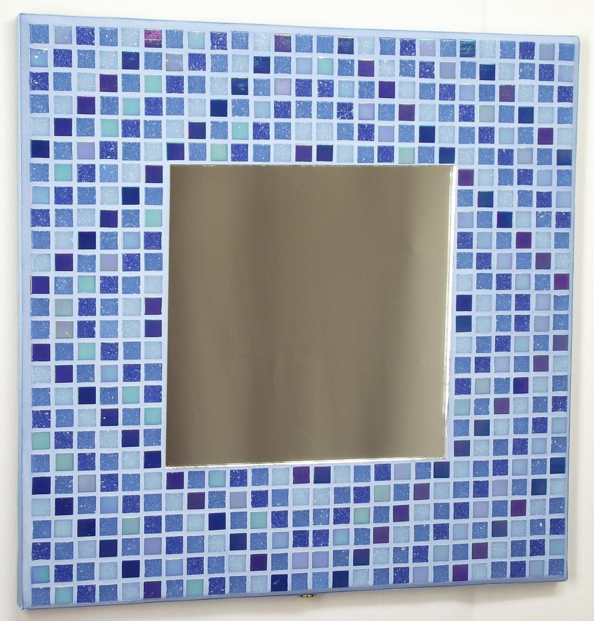Winter Diamonds 29cm Mosaic Mirror
