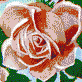 Fairy Rose (Pink) - Mosaic Tile Art