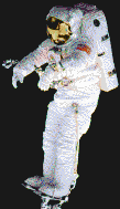 Spaceman (Peter J K Wisoff) - Mosaic Tile Art