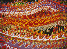 Singapore Dragons - Tile Mosaic