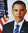 President Barack Obama - Mosaic Tile Art