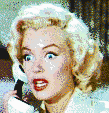 Marilyn Monroe (Gentlemen Prefer Blondes Trailer) - Mosaic Tile Art