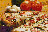 Pizza - Mosaic Tile Art