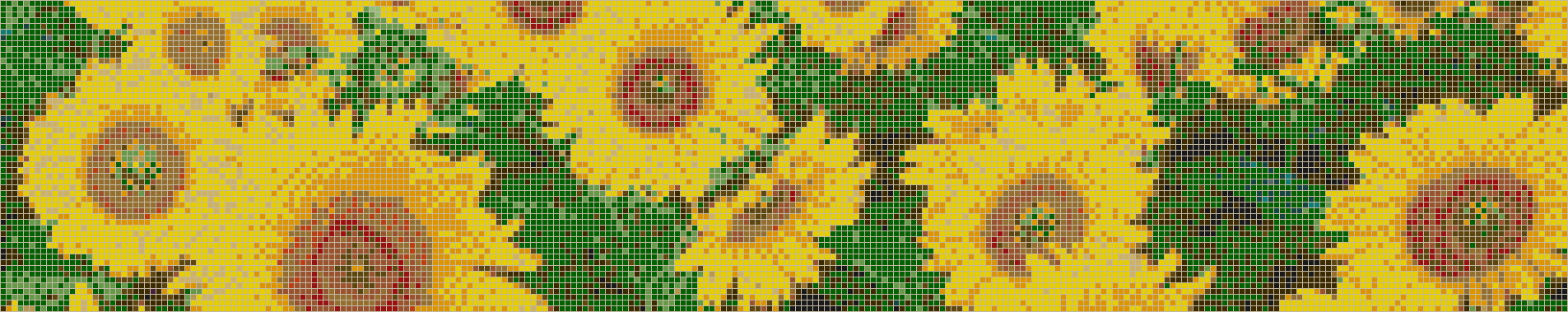 Sunflowers - Mosaic Tile Picture Art