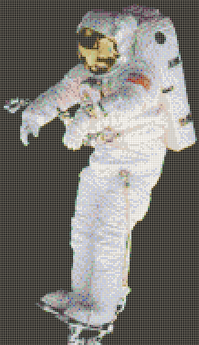 Spaceman (Peter J K Wisoff) - Mosaic Tile Picture Art