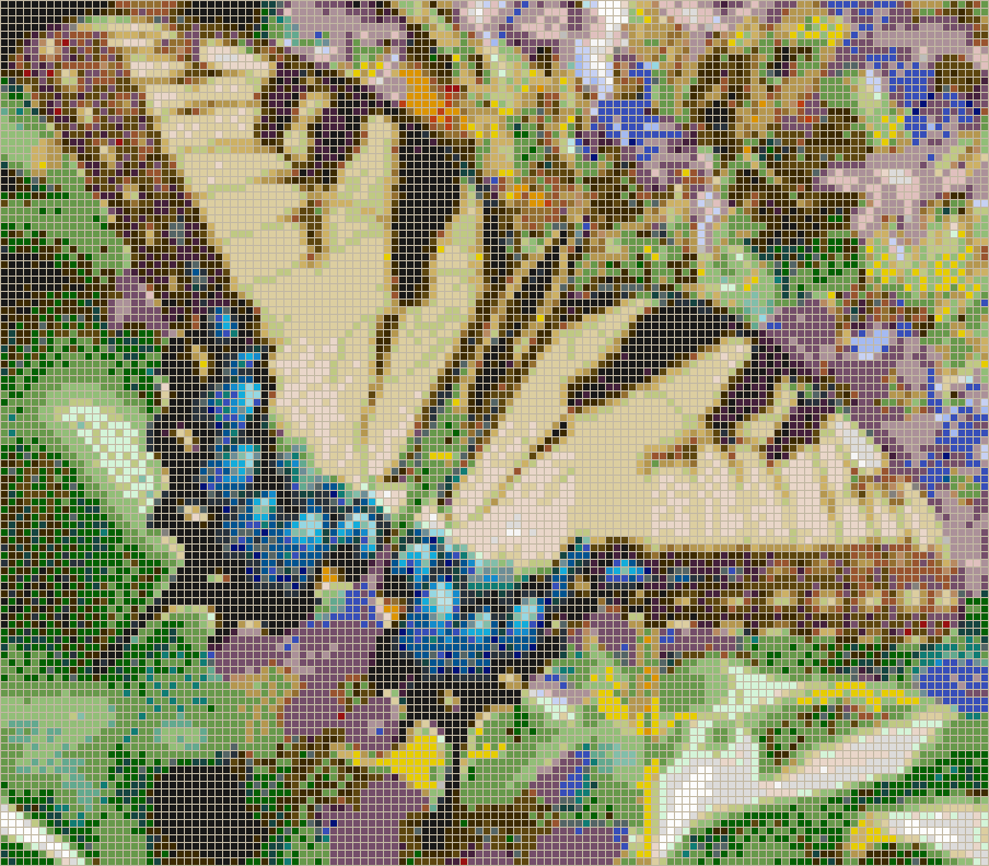 Swallowtail Butterfly - Mosaic Tile Picture Art