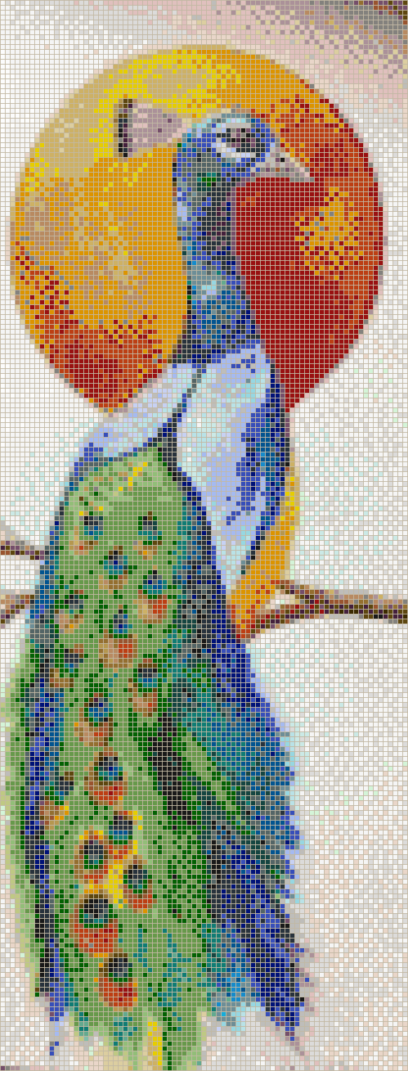 Glowing Peacock - Mosaic Tile Picture Art