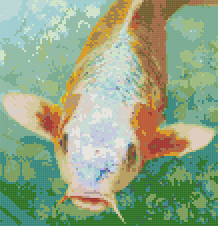 Hungry Koi - Mosaic Tile Picture Art