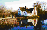 Flatford Mill - Framed Mosaic Wall Art