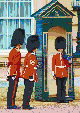Buckingham Palace Guards - Framed Mosaic Wall Art