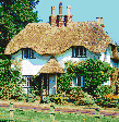 New Forest Cottage - Framed Mosaic Wall Art