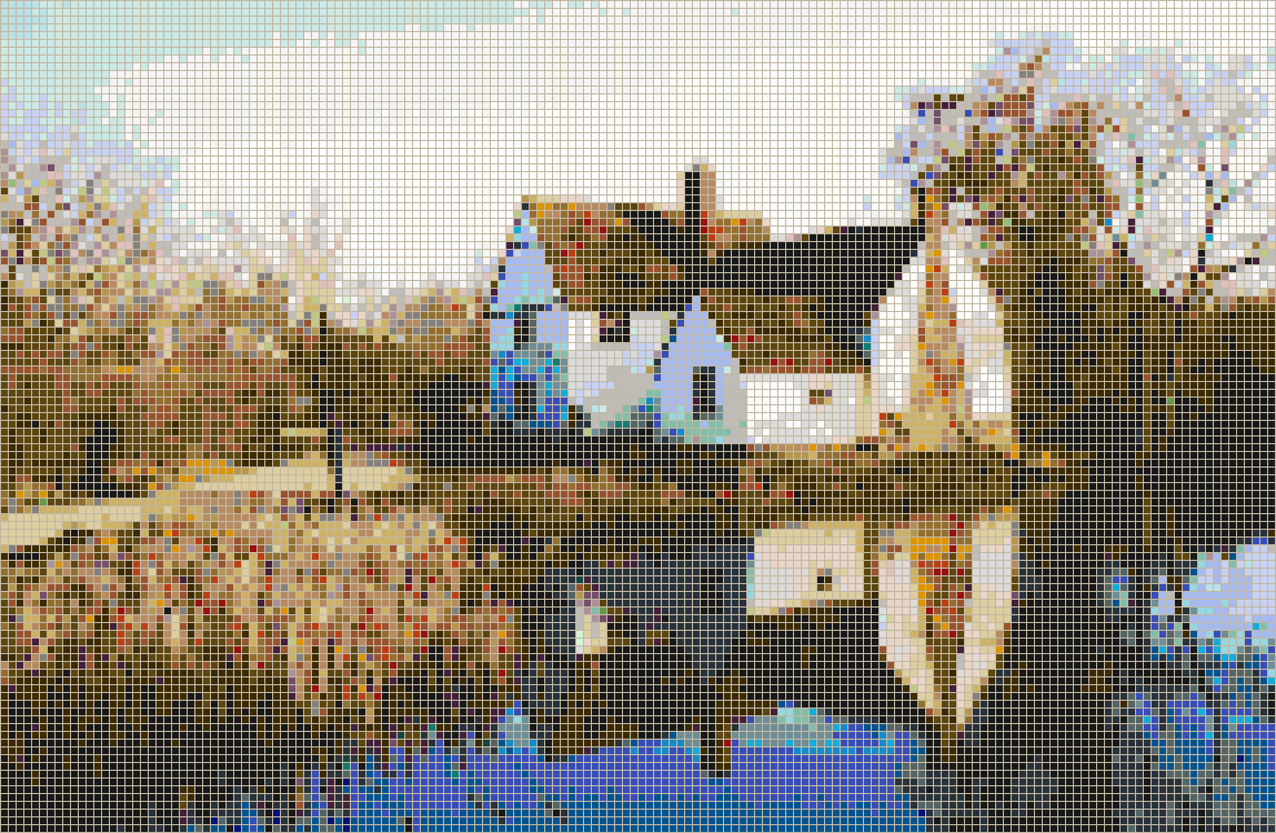 Flatford Mill - Mosaic Wall Picture Art