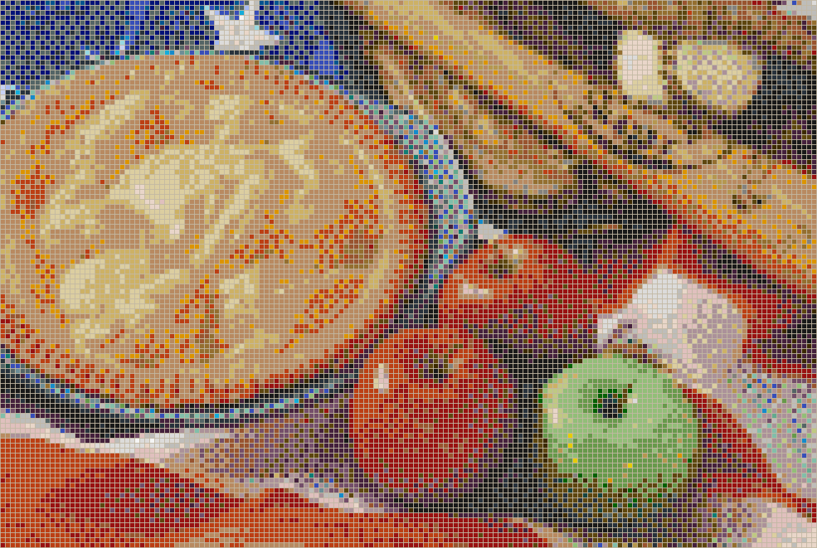 American as Apple Pie - Mosaic Wall Picture Art