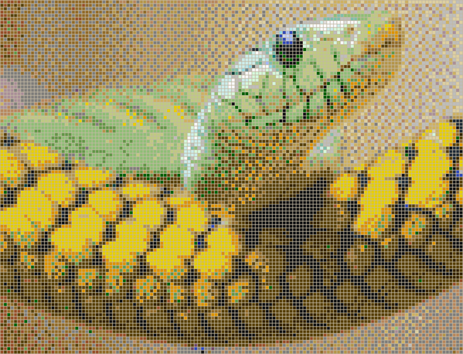 Snakehead - Mosaic Wall Picture Art