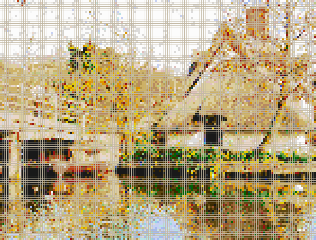 Bridge Cottage - Mosaic Wall Picture Art