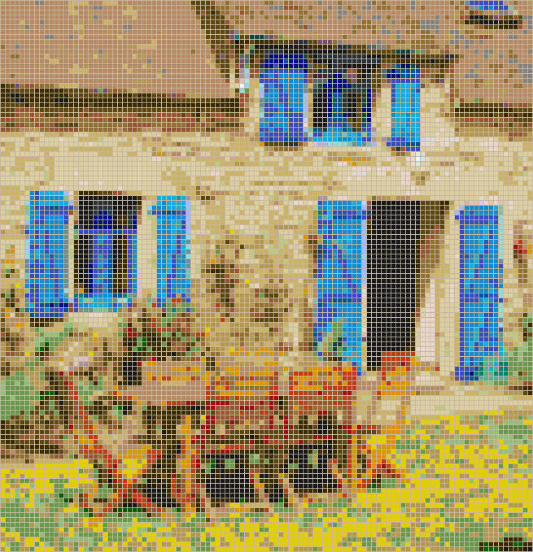 Brittany Alfresco - Mosaic Wall Picture Art