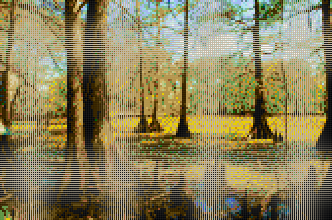 Louisiana Swamp - Mosaic Wall Picture Art