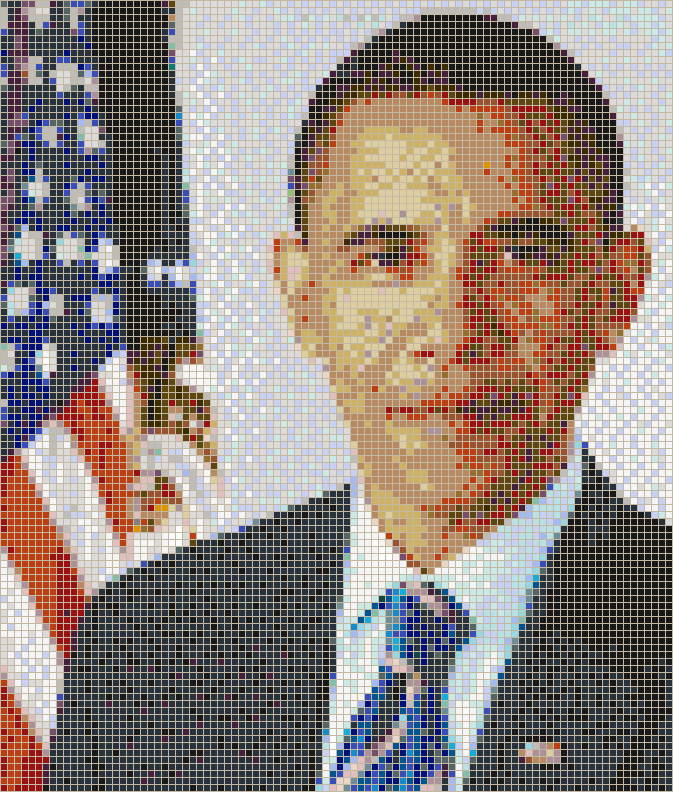 President Barack Obama - Mosaic Wall Picture Art