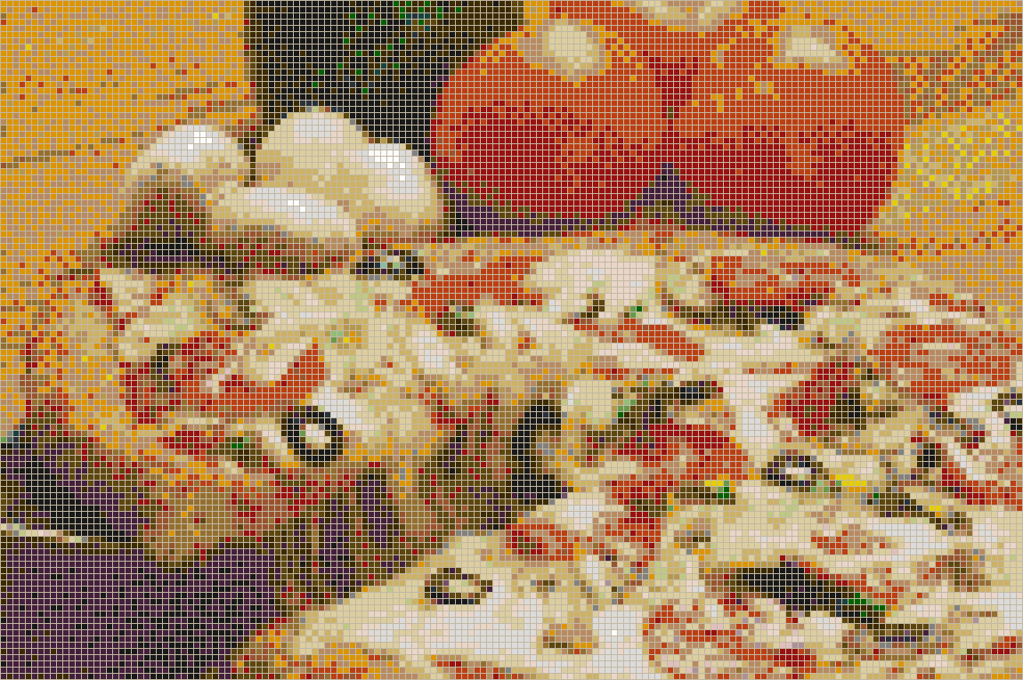 Pizza - Mosaic Wall Picture Art