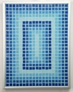 Aqueous Perspectives - Framed Mosaic Accent