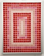 Candy Perspectives - Framed Mosaic Accent