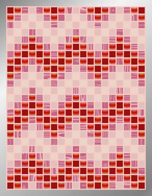 Candy ZigZags - Mosaic Tiled Accent