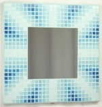 Seaside Unity 29cm - Mosaic Tiled Mirror