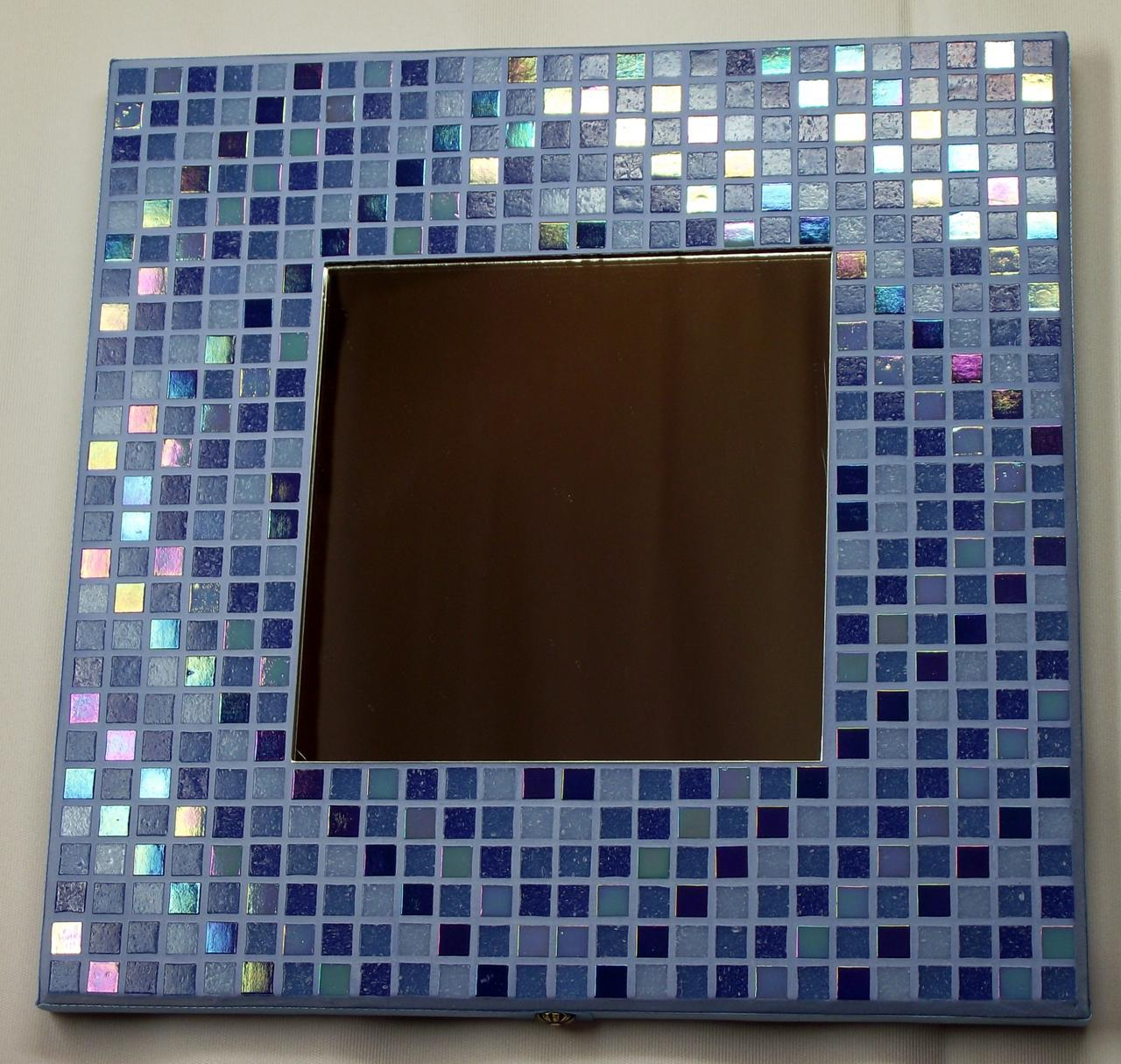 Winter Diamonds 29cm Iridescent Mirror