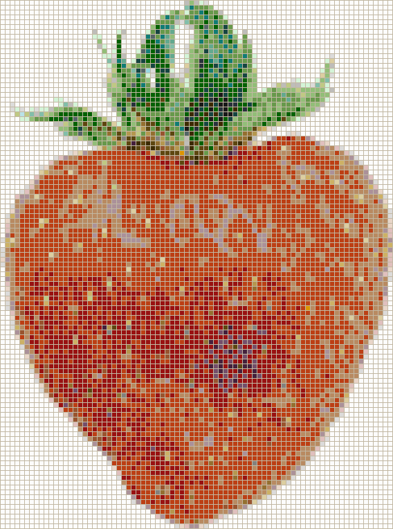 Strawberry - Mosaic Tile Picture Art