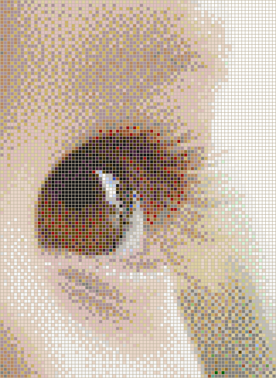 Baby Eye - Mosaic Tile Picture Art
