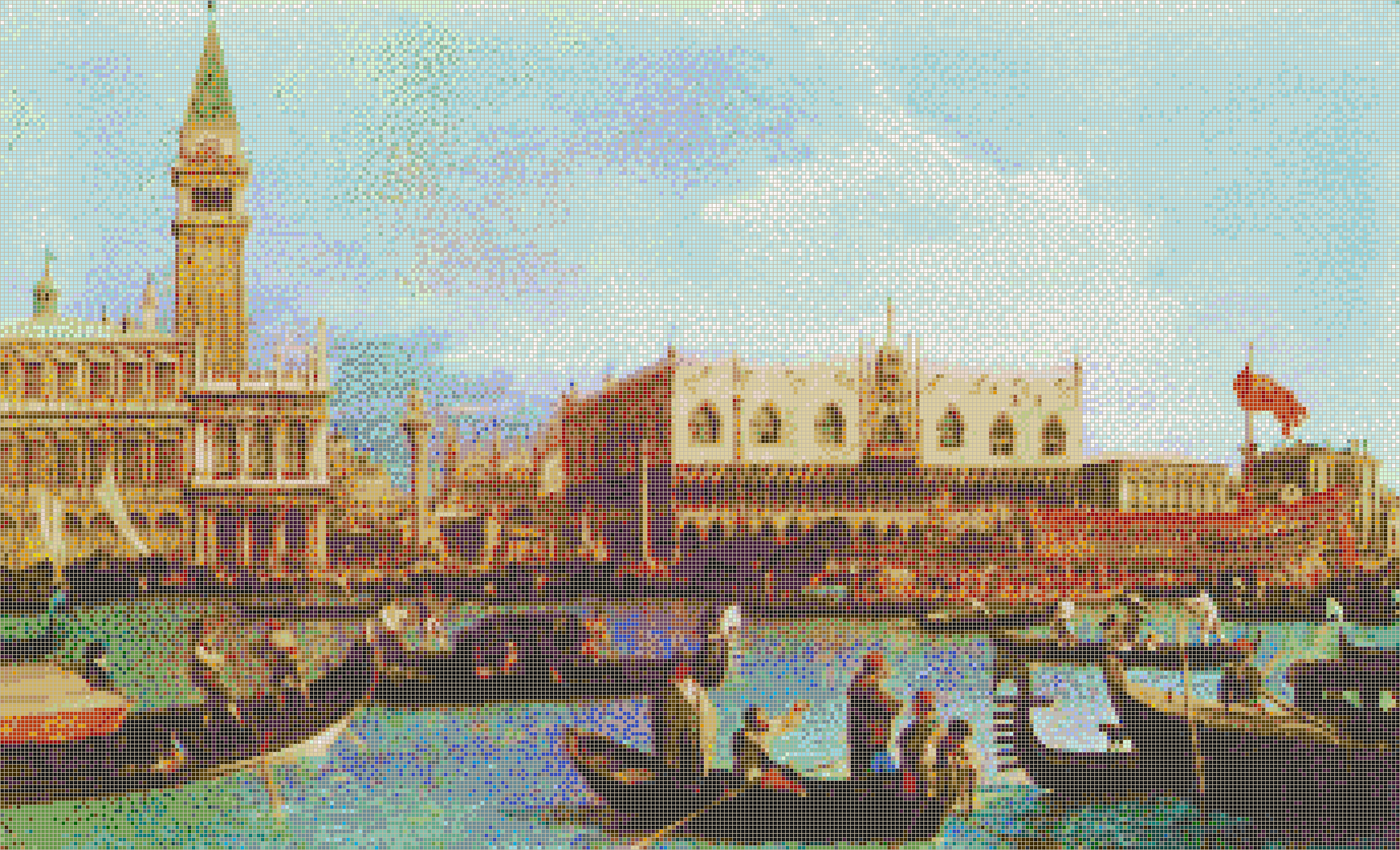 Bucentoro returns to the Molo, Venice (Canaletto) - Mosaic Tile Picture Art